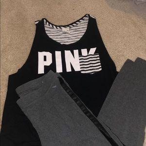 Pink vs large
